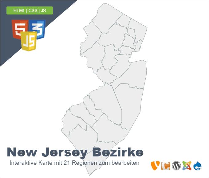 New Jersey Bezirke