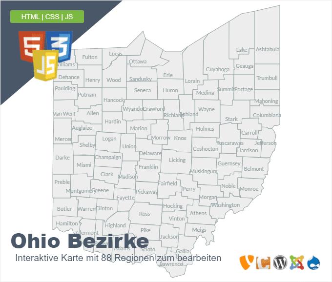 Ohio Bezirke