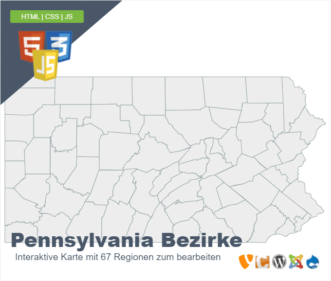 Pennsylvania Bezirke