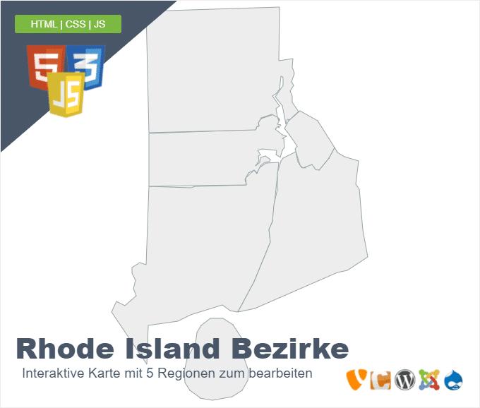 Rhode Island Bezirke