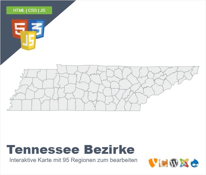 Tennessee Bezirke