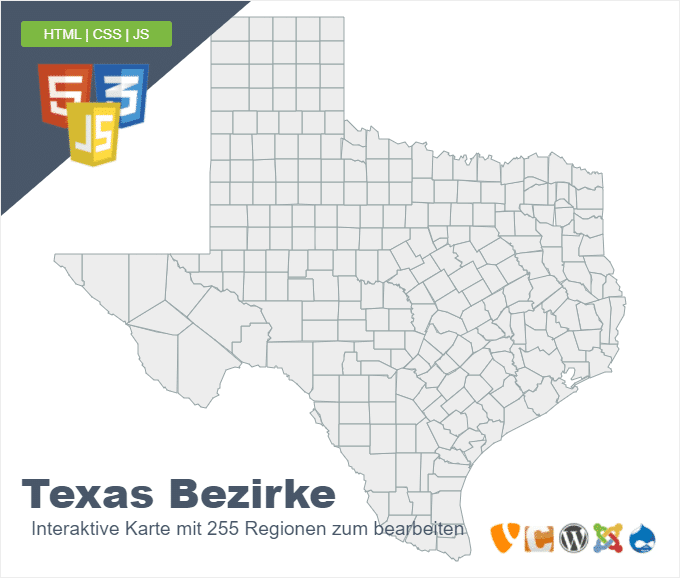 Texas Bezirke