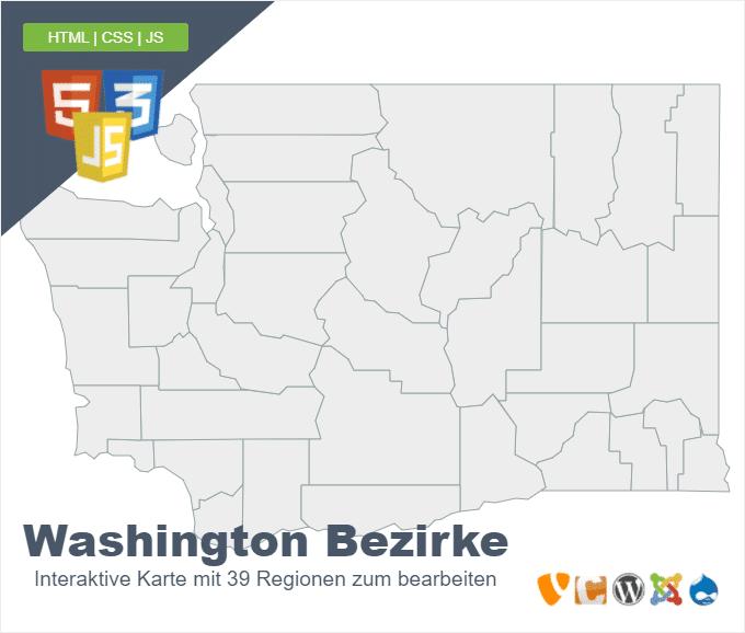 Washington Bezirke